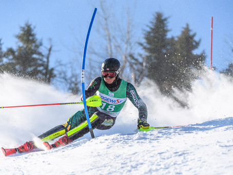Tefre and Nullmeyer reign supreme in Colby Carnival Slalom