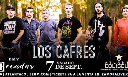 Los Cafres anuncian su gira 3Décadas en Atlanta