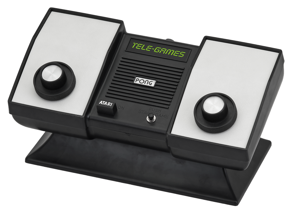 The Atari Pong home system