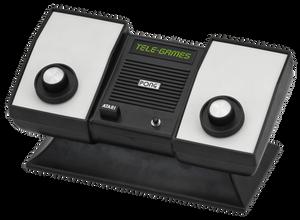 The Atari Pong home system