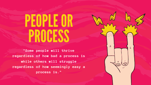 People or Process, which one wins?