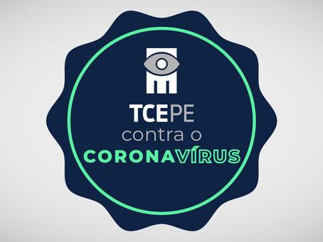 TCE acompanha permanentemente gastos do Recife no combate à Covid- 19