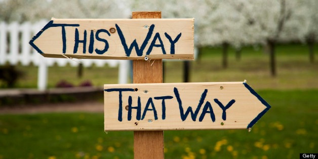 If you've always gone right and you're longing for a different result, it's time to go left!