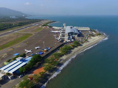 El 30 de octubre llega a Santa Marta el primer vuelo de Panamá