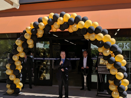DOCO welcomes the HARD ROCK SHOP with a ribbon cutting ceremony