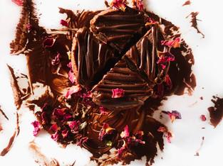 "PLANTFEED// ""Mason & Co Series // A Plant based cacao rose cake.""// by Kelly Mason"