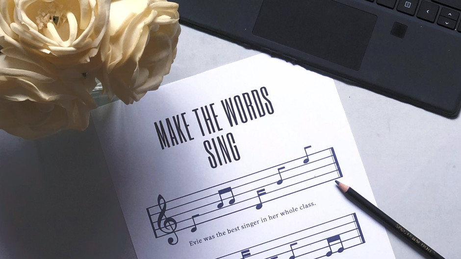 5 Writing Tips to Make Your Words Sing