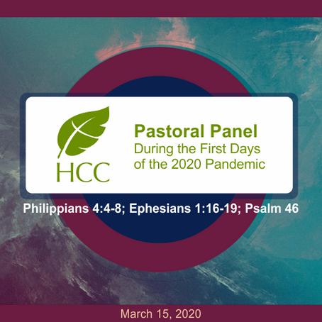 Pastors' Panel