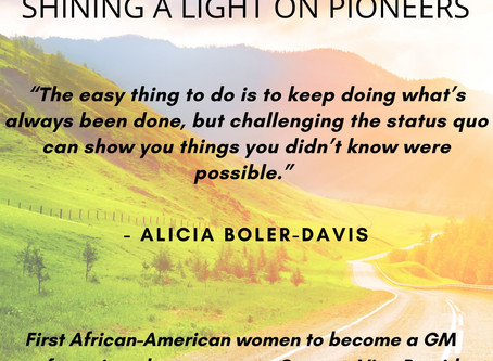 SHINING THE LIGHT ON ALICIA BOLER-DAVIS