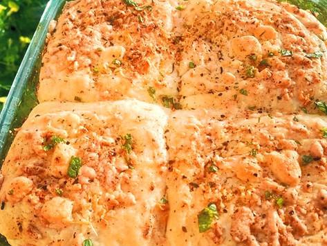 Garlic Cheese Dinner Rolls