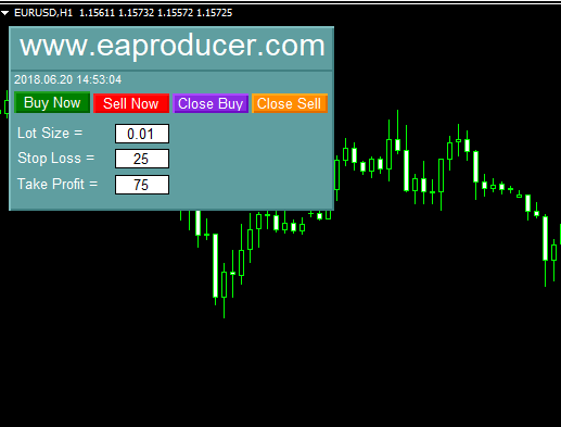 Free Manual Trader Panel EA MT4 MT5|Eaproducer.com