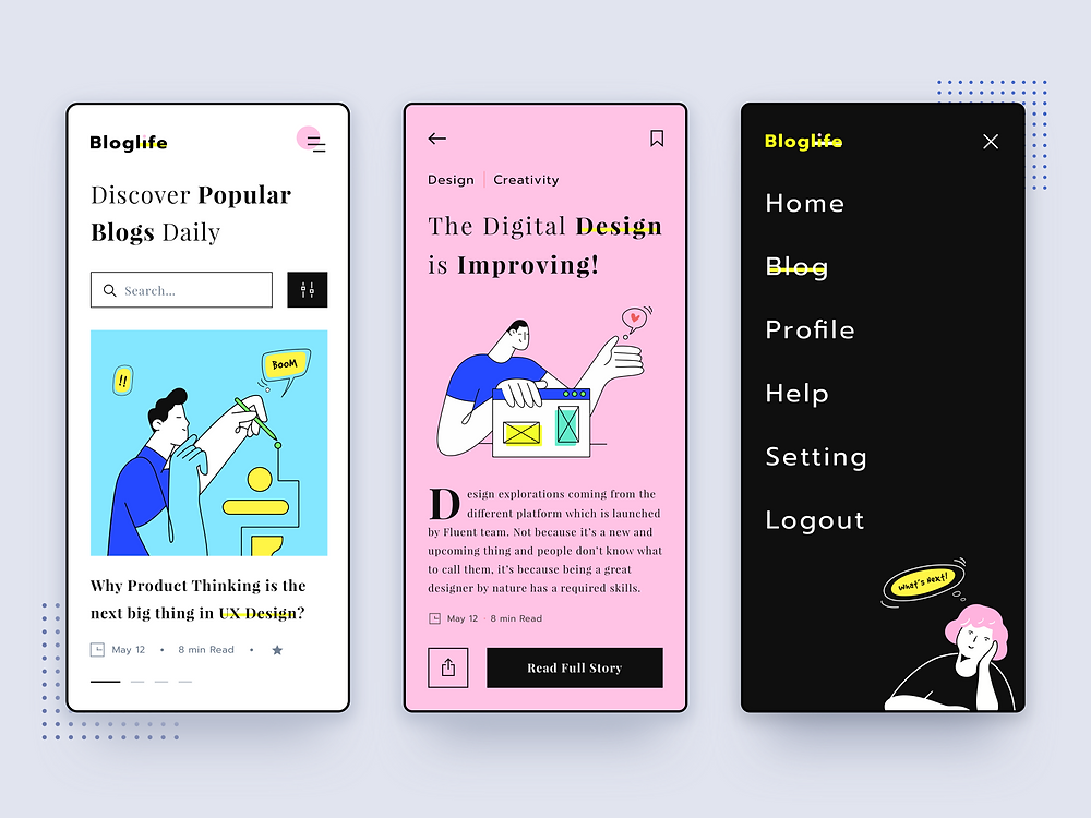Bloglife News App