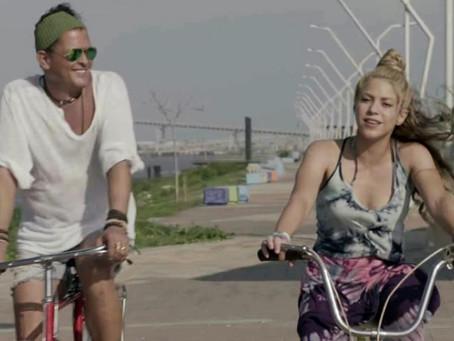 """El tribunal español descarta plagio de la canción """"La bicicleta"""" de Shakira y Carlos Vives"""