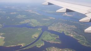 Канал имени Москвы с высоты