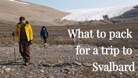 WHAT TO PACK FOR A TRIP TO SVALBARD?