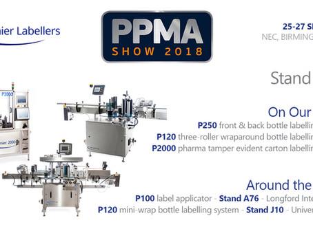 PPMA 2018 Announcement