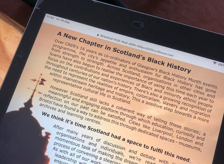 Museums debate risks sugar-coating Scotland's Black History