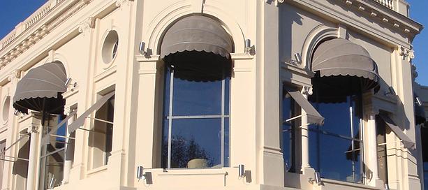 Installation store corbeille