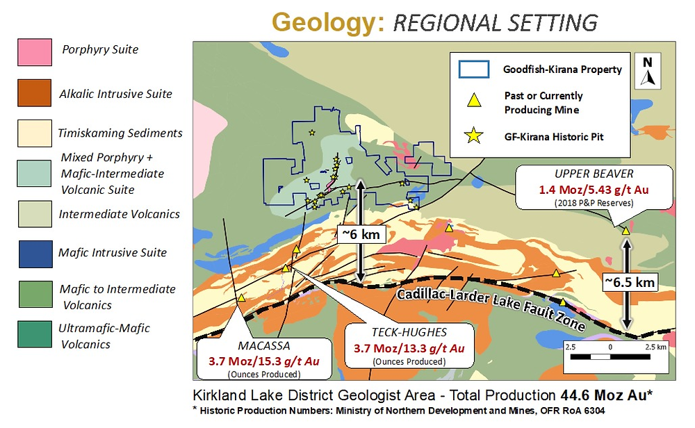 Warrior Gold Regional Geology