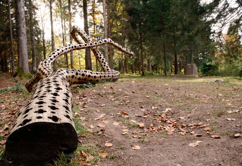 sculptures arbres Stuart Ian Frost