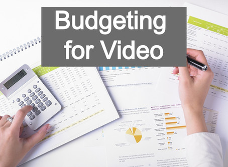 Budgeting for Professional Video Production