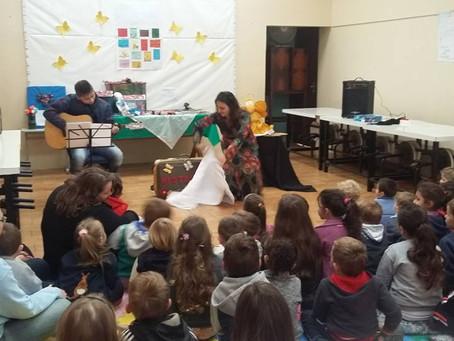 Autora visita escolas de Nova Petrópolis