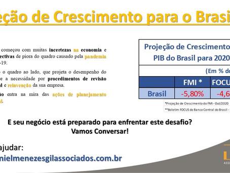Projeção de Crescimento para o Brasil