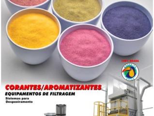 elementos filtrantes -cartuchos para filtragem de pós industriais