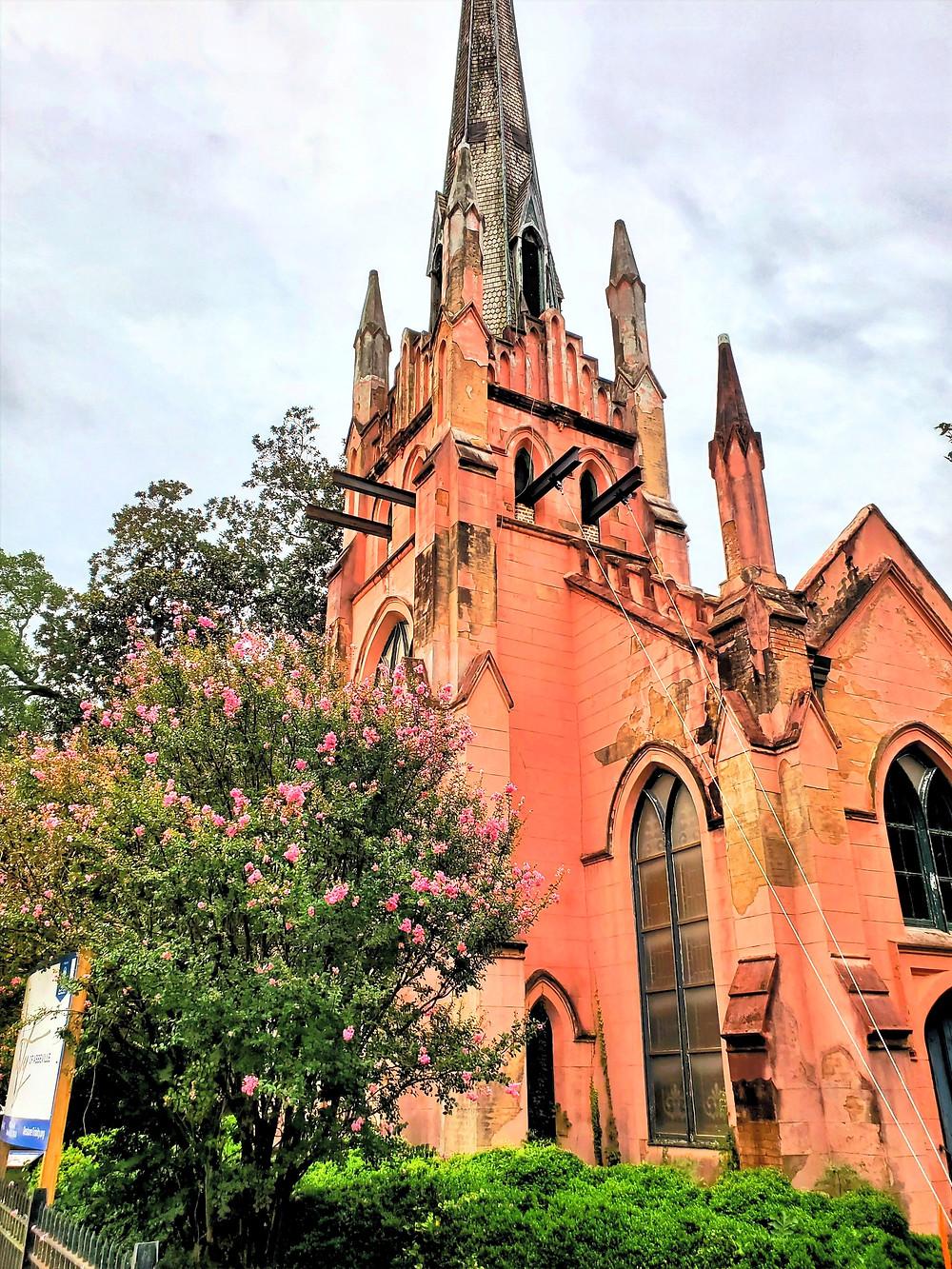 Trinity Episcopal Church undergoing restoration