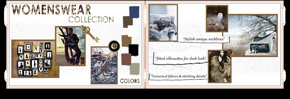 fashion portfolio presentation