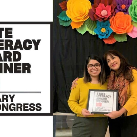 CIELO wins Library of Congress State Literacy Award