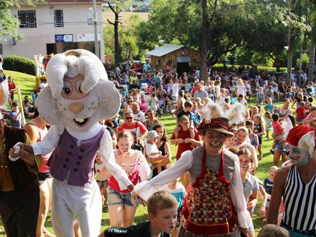 Atrações especiais marcam evento de Páscoa