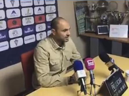 Escucha las declaraciones de Jesús Castellanos tras el CP Villarrobledo 1 CD Badajoz 3.