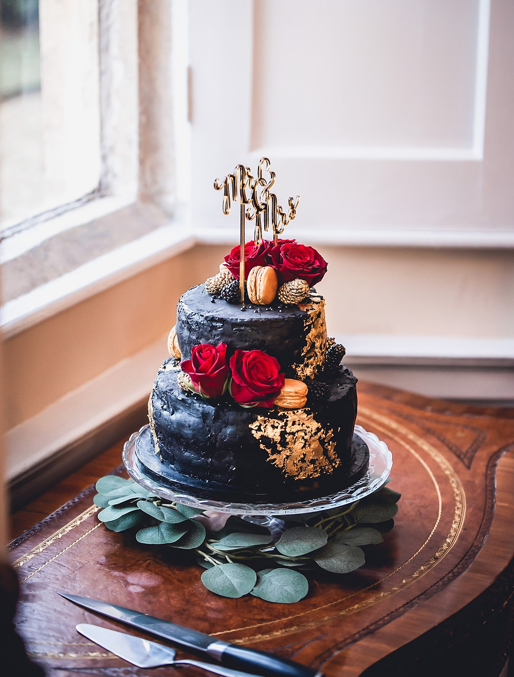 Chocolate Wedding Cake Grantham