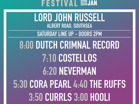 Lord John Russell Stage Times!