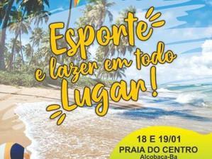 Torneio de Futebol de Praia agita o extremo sul da Bahia
