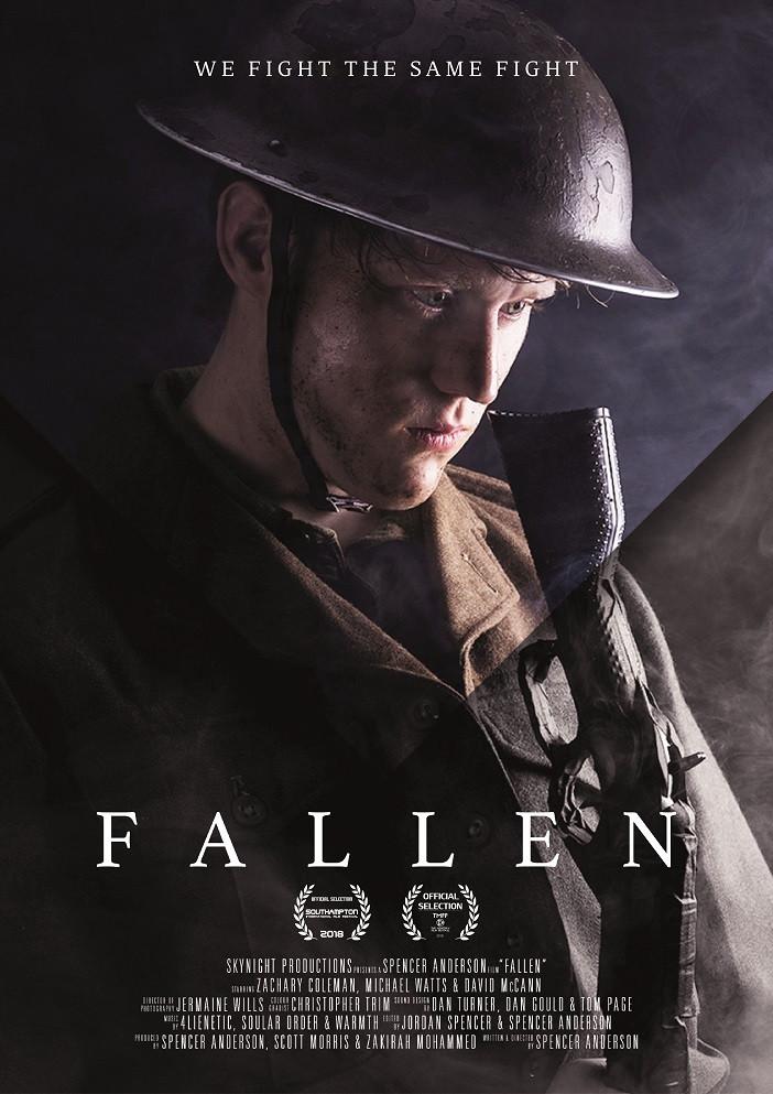 Fallen short movie poster