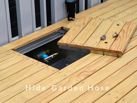 Hide Garden Hose : สายยางซ่อนได้