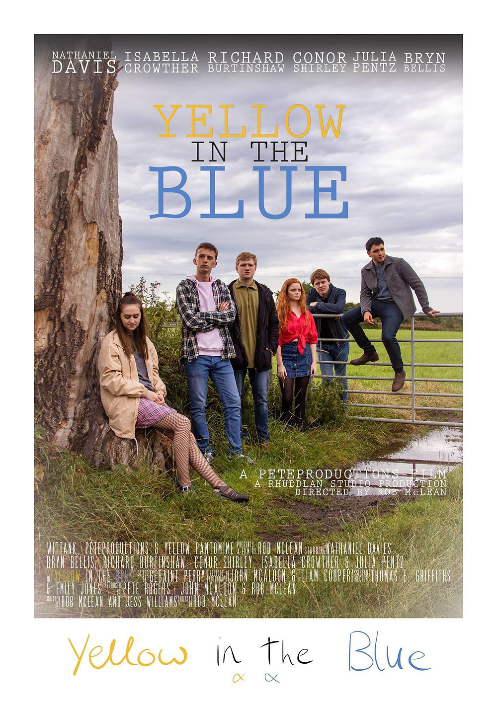 Yellow in the Blue movie poster