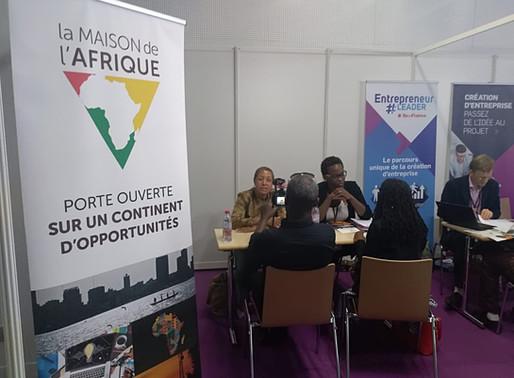 Forum des diasporas africaines : un grand merci d'être passés sur le stand!