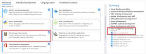 Create SSIS package in Visual Studio 2017