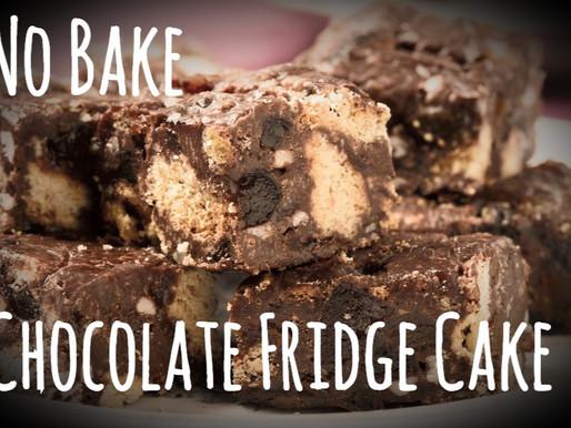 No Bake Chocolate Fridge Cake / Tiffin