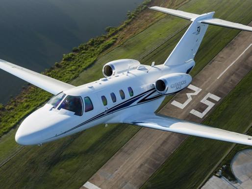#Самолет CESSNA CITATION M2 - проворный малыш бизнес-авиации.