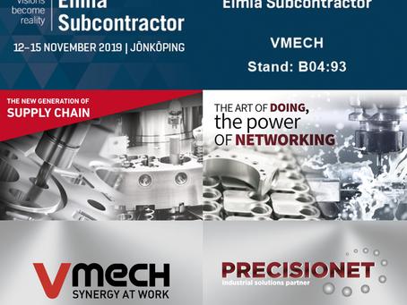 VMECH & PRECISIONET at Elmia Subcontractor 2019