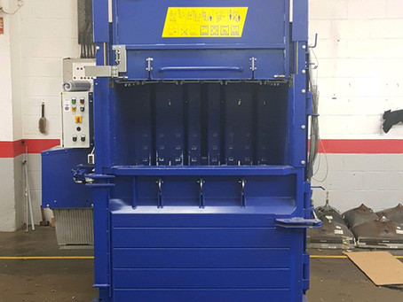 Wiser Recycling Purchases Replacement Plastic Baler After 17 Years!