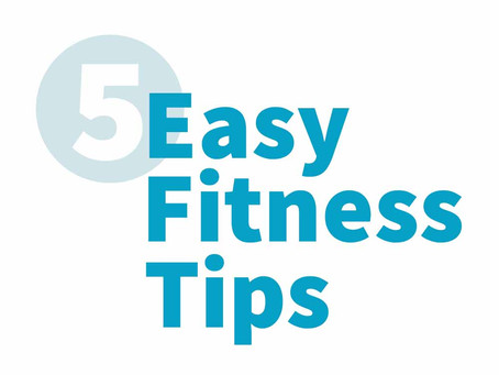 5 quick and easy tips for a healthier you