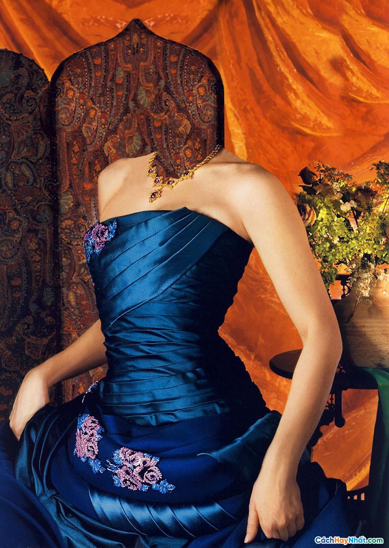 Photoshop Ghép Hình Phụ Nữ Tuyệt Đẹp
