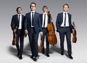 POSTPONED - Orava Quartet - Mozart, Beethoven and Schulhoff (Fri 24 April, 7.30pm)