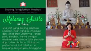 Mukjizat penyembuhan dari Meditasi - Sharing oleh MELANNY