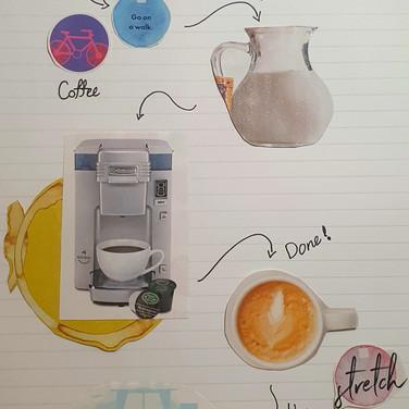 Sarah, Easy Latte at home